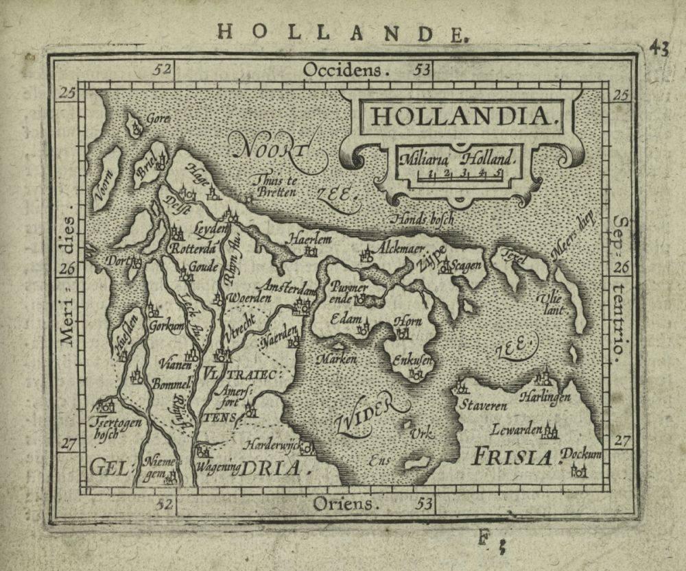 Hollandia, 1603