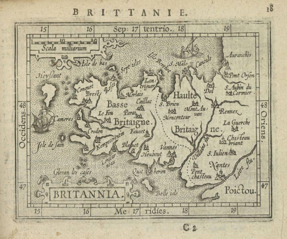 Britannia, 1603