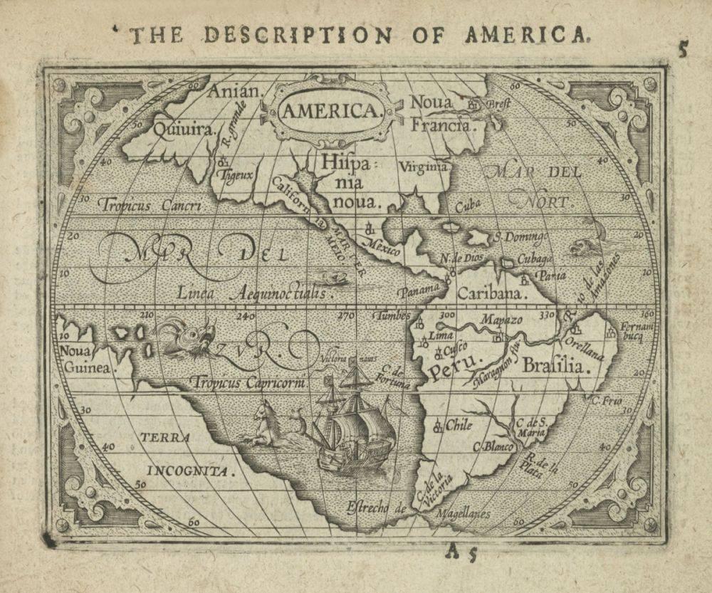 America , 1603