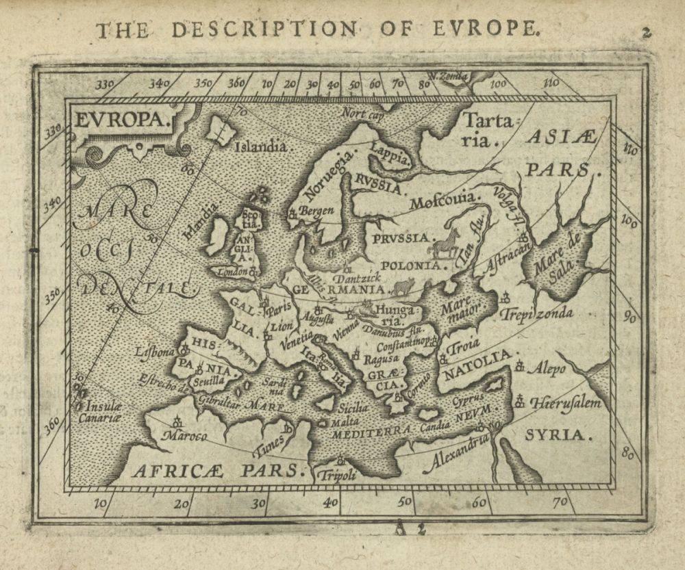 Europa, 1603