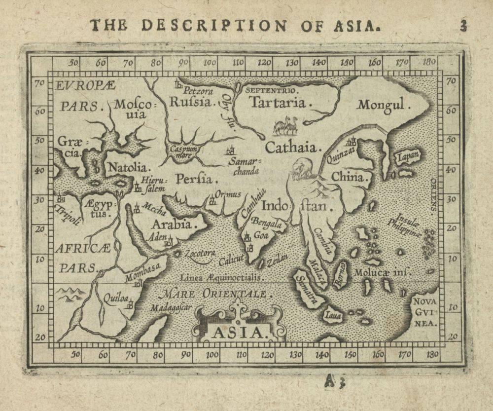 Asia, 1603
