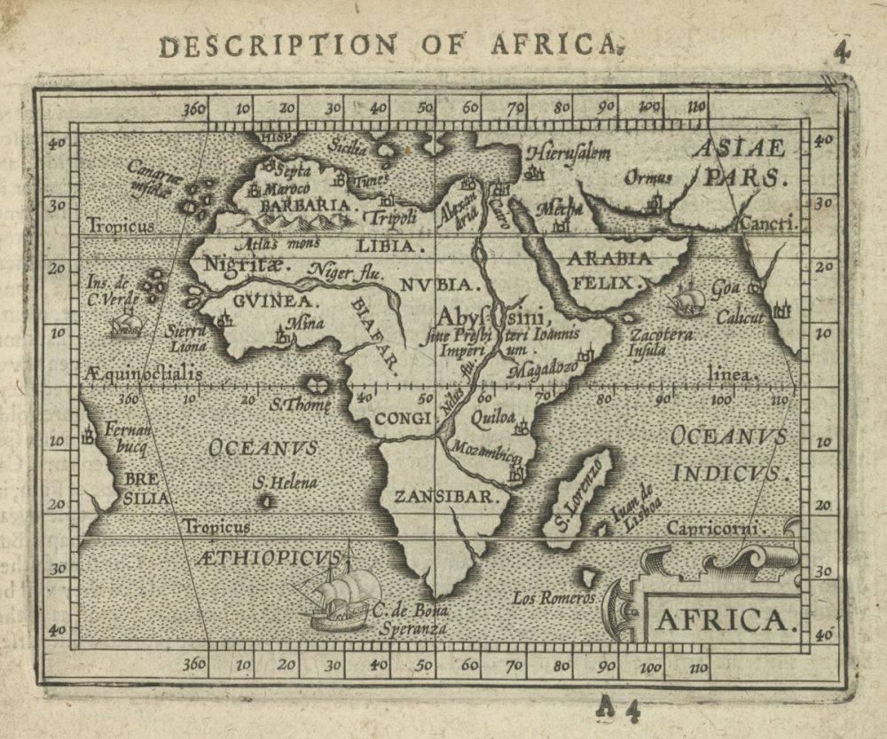 Africa, 1603