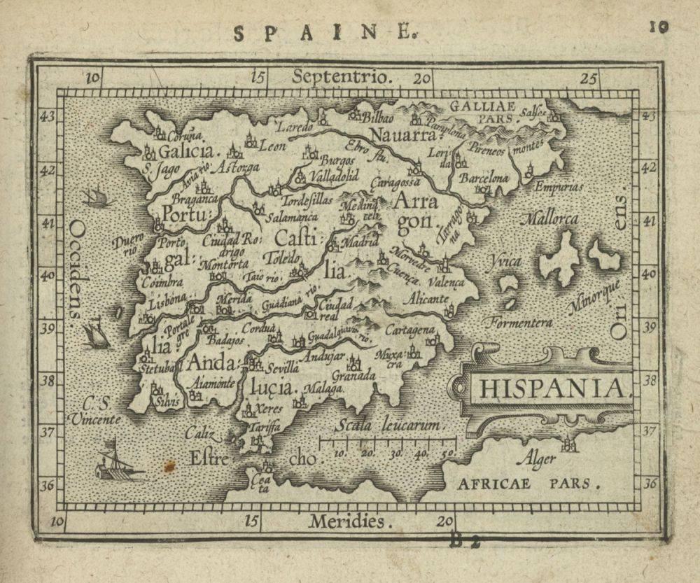 Hispania, 1603
