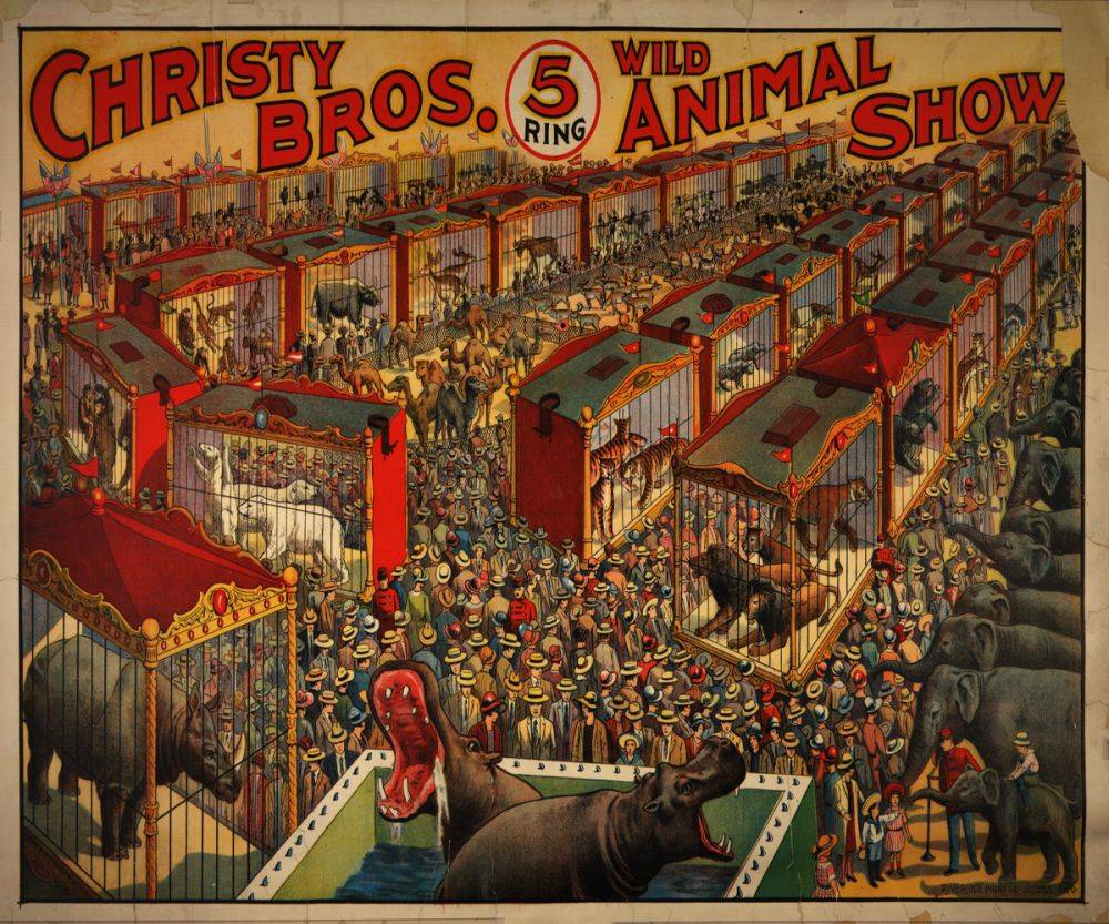 Christy Brothers Circus 1919