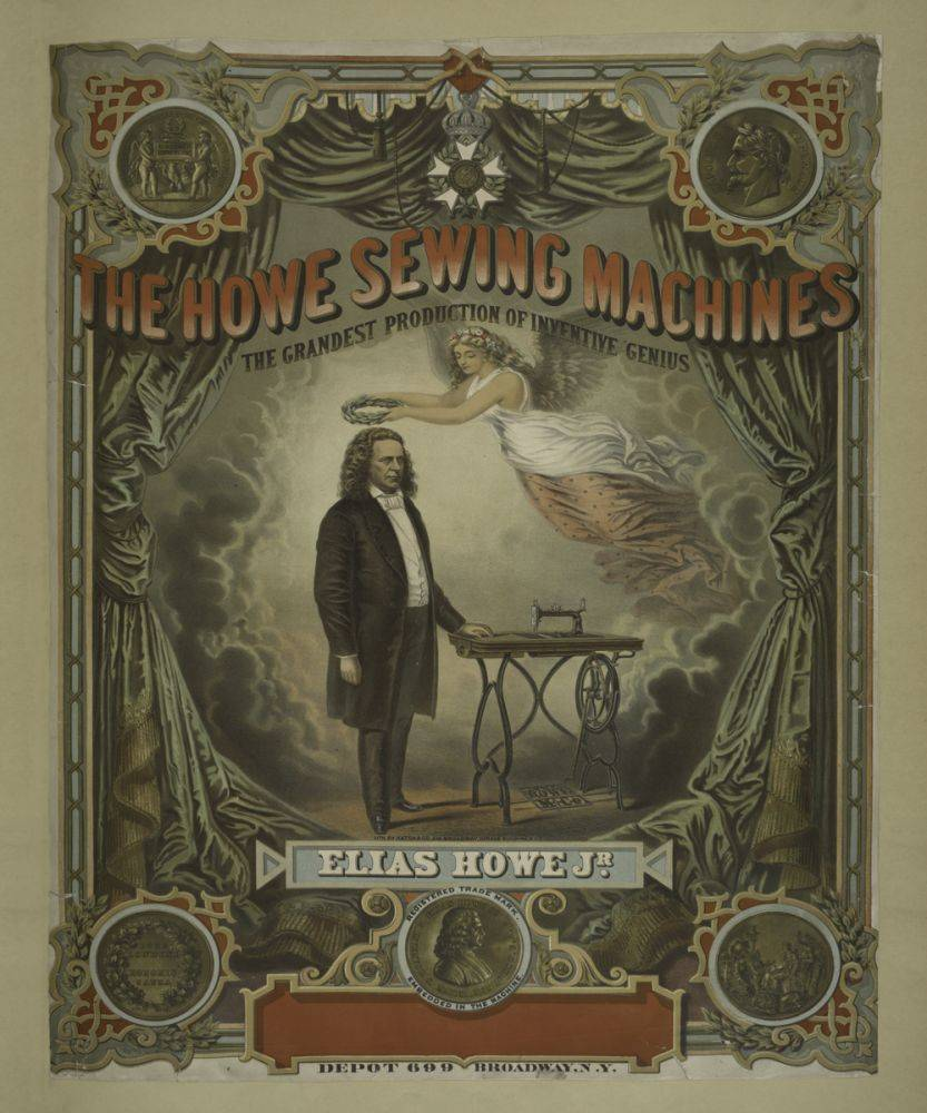 The Howe Sewing Machines