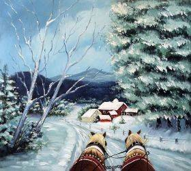 Sleigh Ride Reproduction