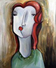 Girl with Red Hair Reproduction