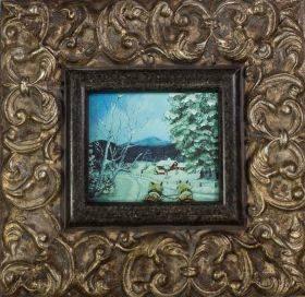 Sleigh Ride Pre-Framed Miniature