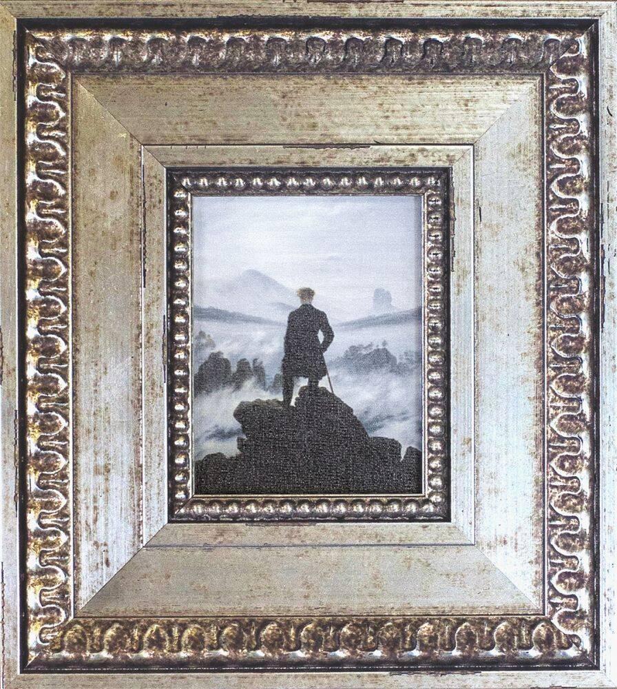 Wanderer above the Sea of Fog Pre-Framed Miniature