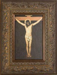 Christ on the Cross Pre-Framed Miniature