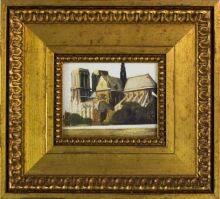 Notre Dame de Paris, 1907 Pre-Framed Miniature