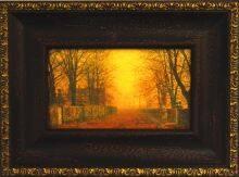 Evening Glow Pre-Framed Miniature