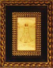 Vitruvian Man Pre-Framed Miniature