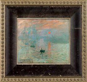 Impression, Sunrise Pre-Framed Miniature