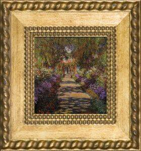 Garden Path at Giverny Pre-Framed Miniature