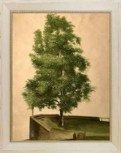 Linden Tree on a Bastion Preframed