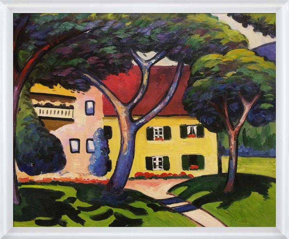 House in a Landscape Pre-Framed