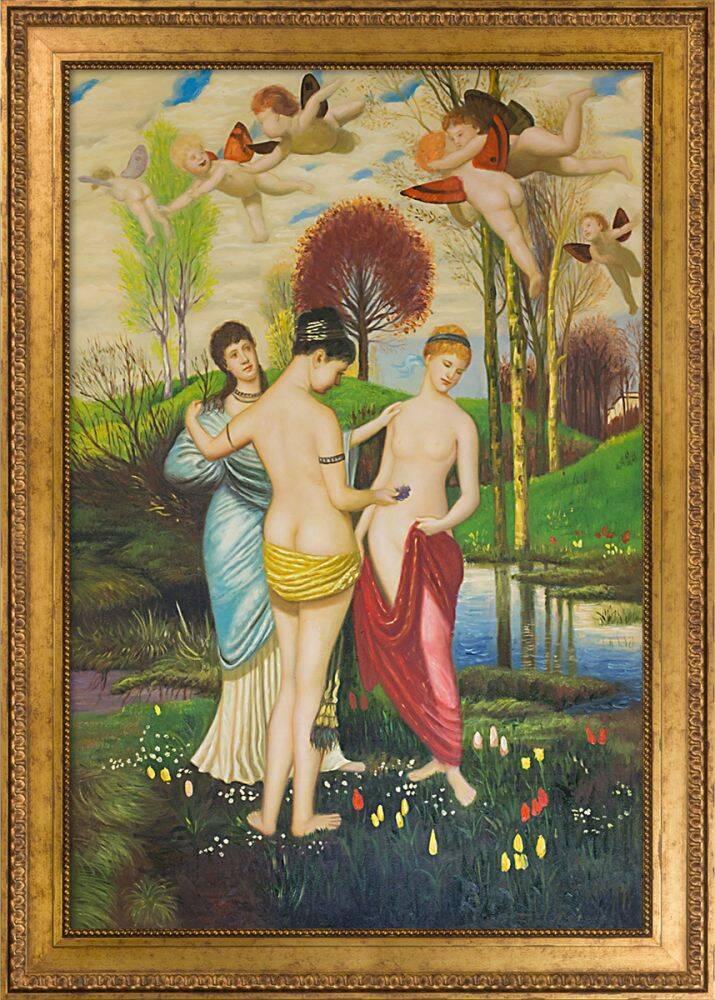 Hymn to Spring Pre-Framed