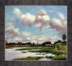 Norman Landscape Pre-Framed