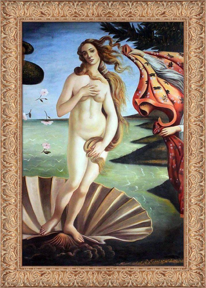 Birth of Venus (center panel) Pre-Framed