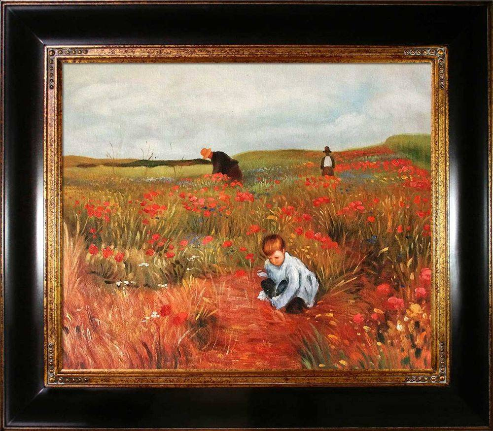 Les Coquelicots Pre-Framed