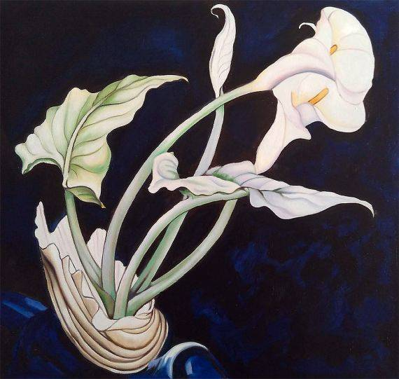 Demuth, Calla Lilies - Reproduction Oil Paintings
