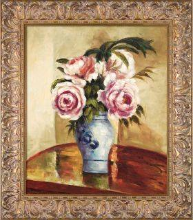 Bouquet of Pink Peonies Pre-Framed