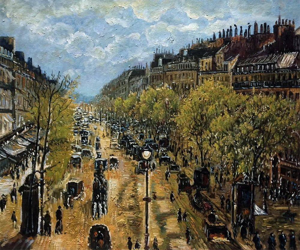 Boulevard Montmartre, Spring