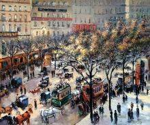 Boulevard des Italiens, Morning Sunlight