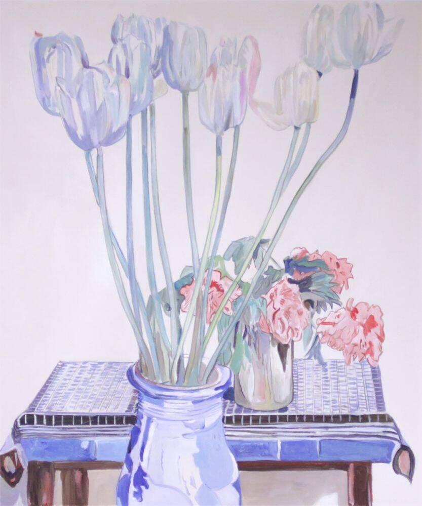 Charles Rennie Mackintosh White Tulips