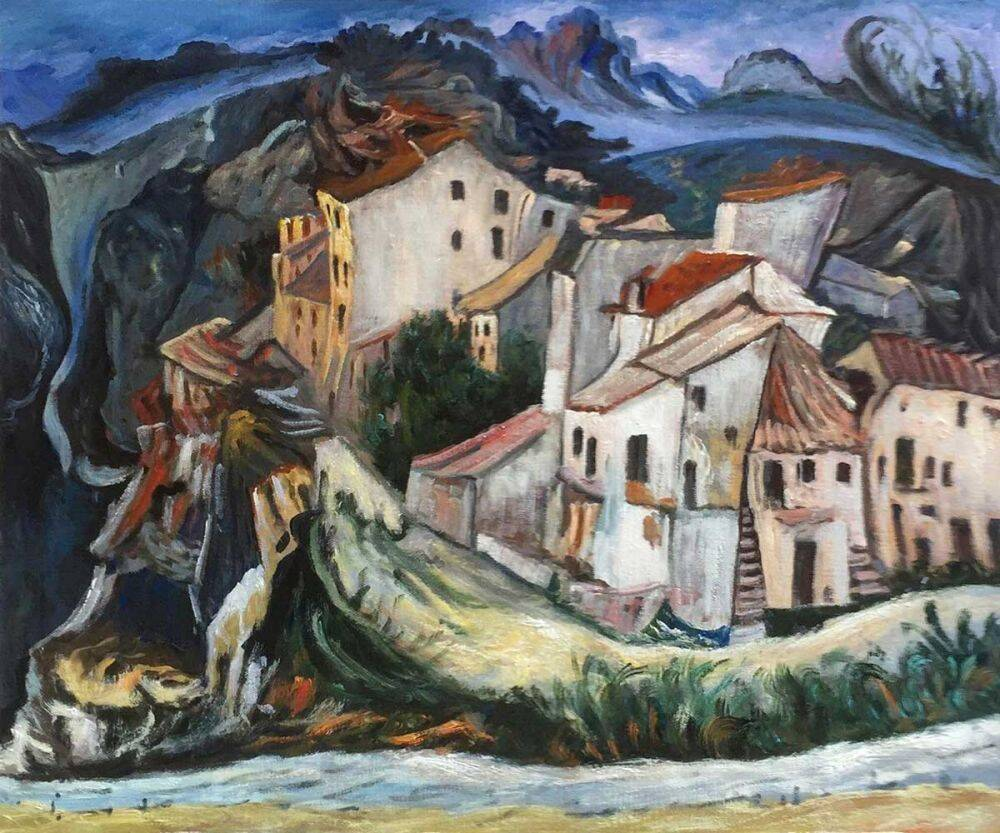 Chaim Soutine View of Cagnes
