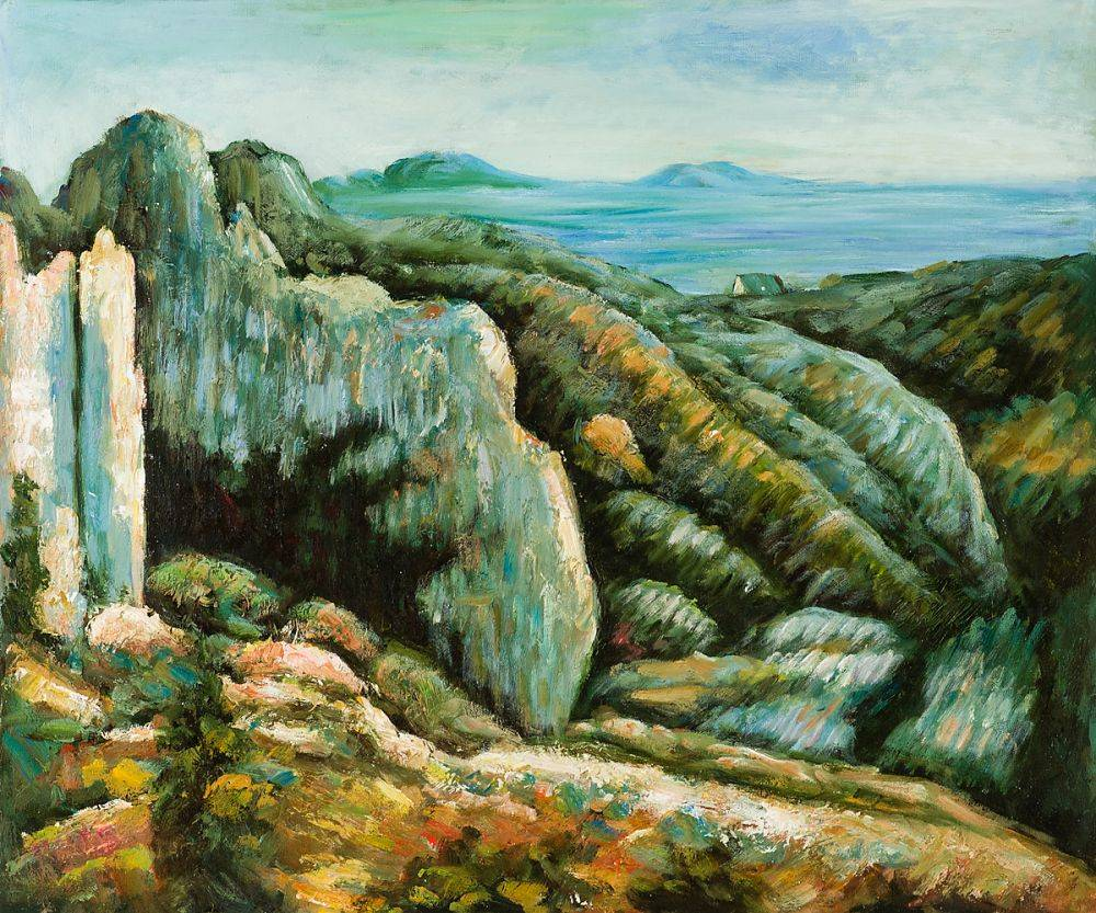 Rocks at L'Estaque, 1882