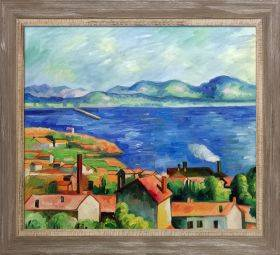 The Gulf of Marseilles Pre-Framed