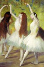 Dancers in Green