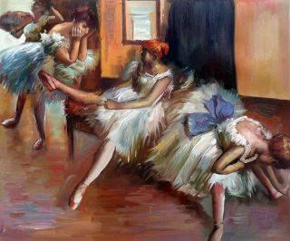Ballet Rehersal (detail)