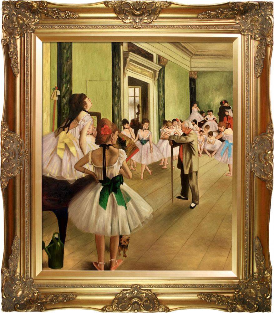 The Dance Class Pre-Framed