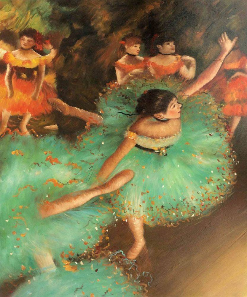 The Green Dancer, 1879