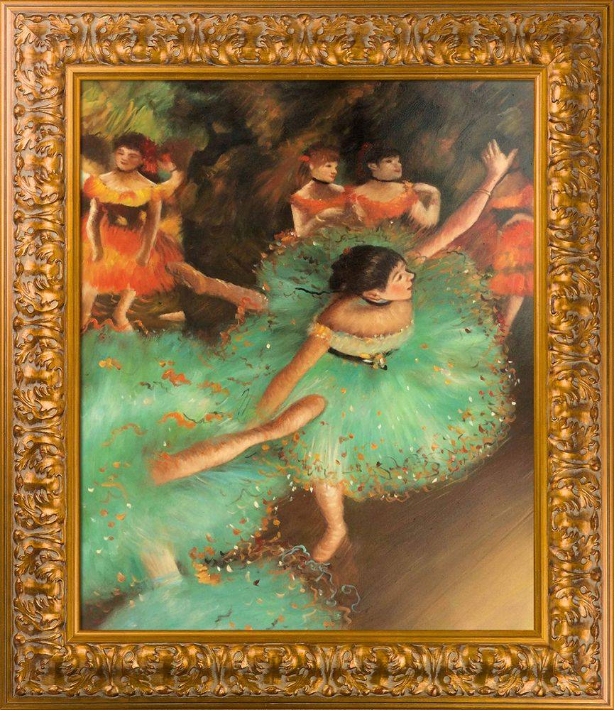 The Green Dancer, 1879 Pre-Framed