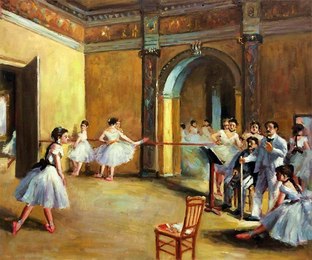 Dance Studio at the Opera