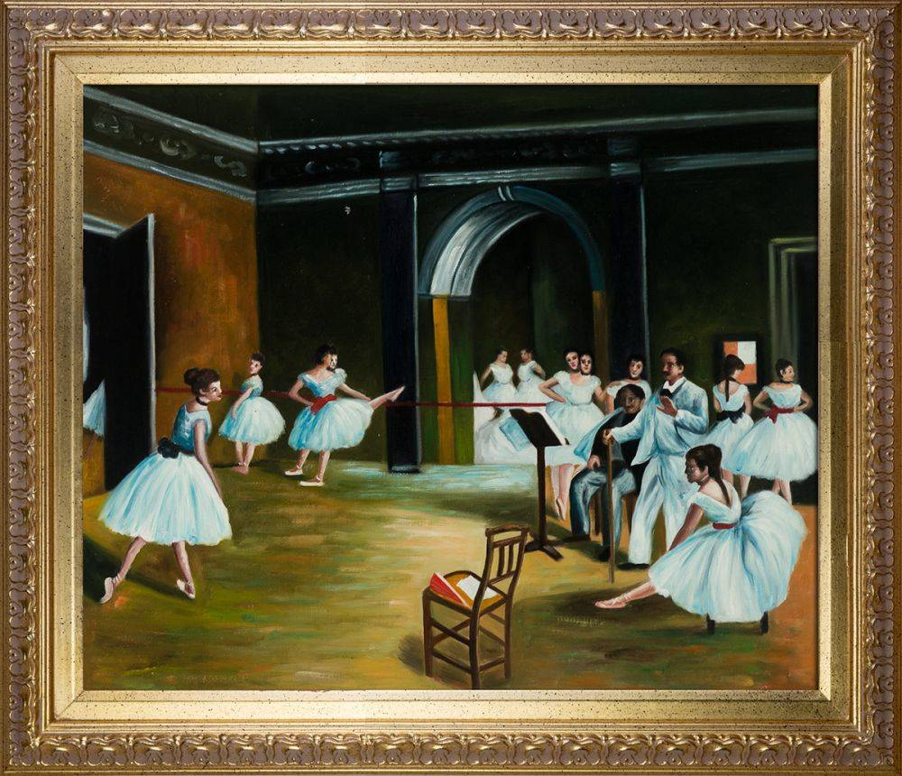 Dance Studio at the Opera (Affordable Line) Pre-Framed