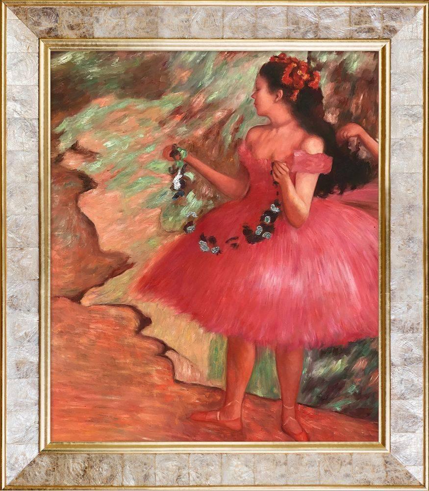 Dancer in a Pink Dress (Luxury Line) Pre-Framed