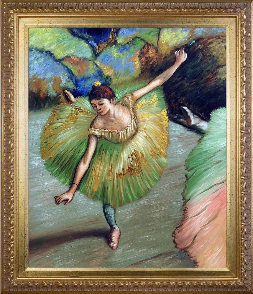 Dancer Tilting (Luxury Line) Pre-Framed
