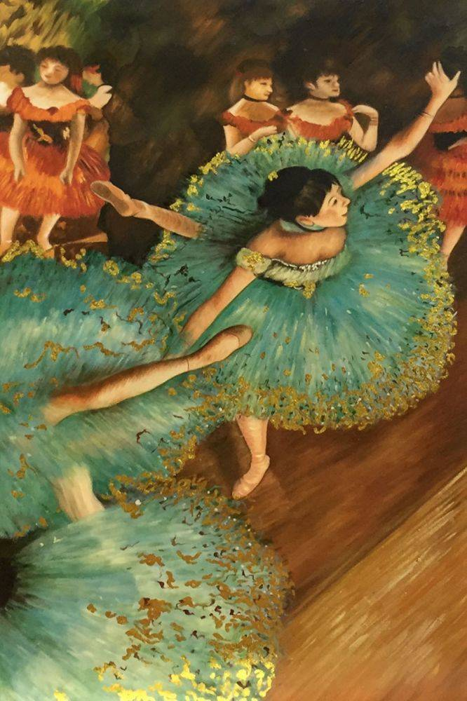 The Green Dancer, 1879 (Luxury Line)