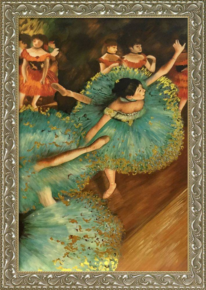 The Green Dancer, 1879 (Luxury Line) Pre-Framed