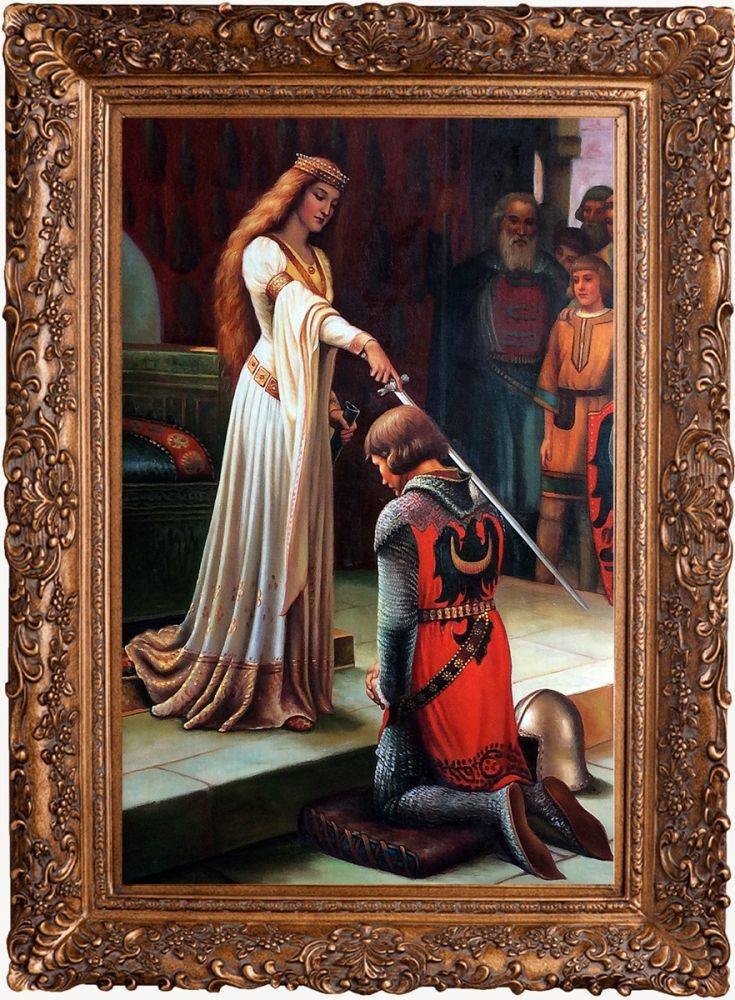 The Accolade, 1901 Pre-Framed