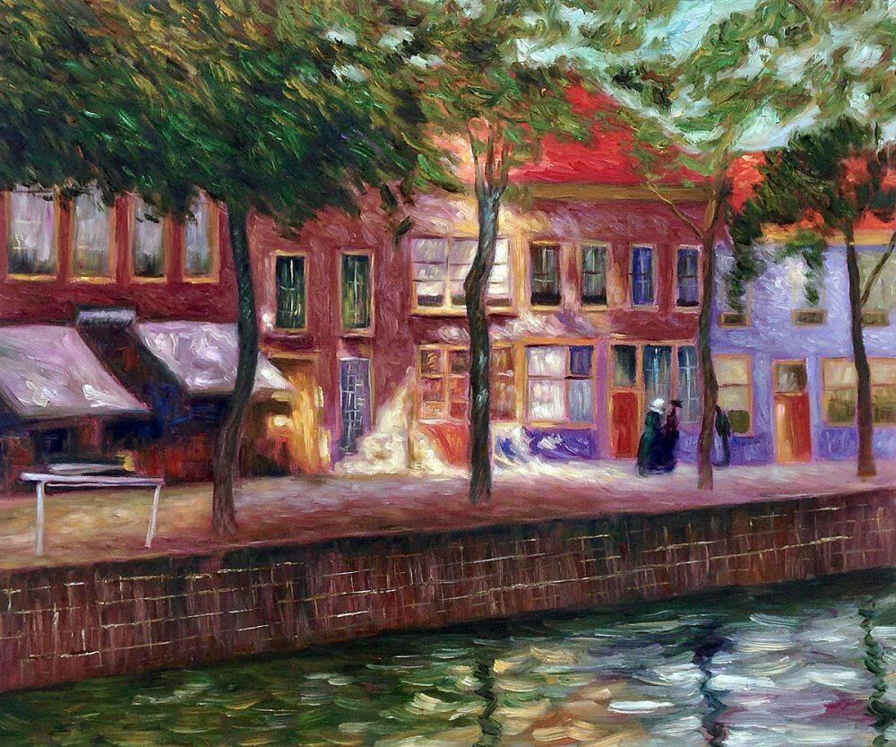 Canal in Zeeland, 1896-1899