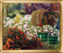 A Corner of My Garden, 1901 Pre-Framed