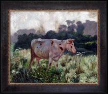 Cow (Study) Pre-Framed