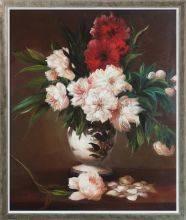 Peonies In A Vase Pre-Framed
