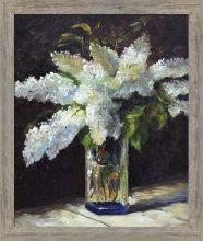 Lilacs in a Vase Pre-Framed